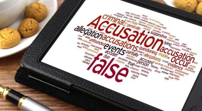 Foto de Documentación de una Falsa Acusación